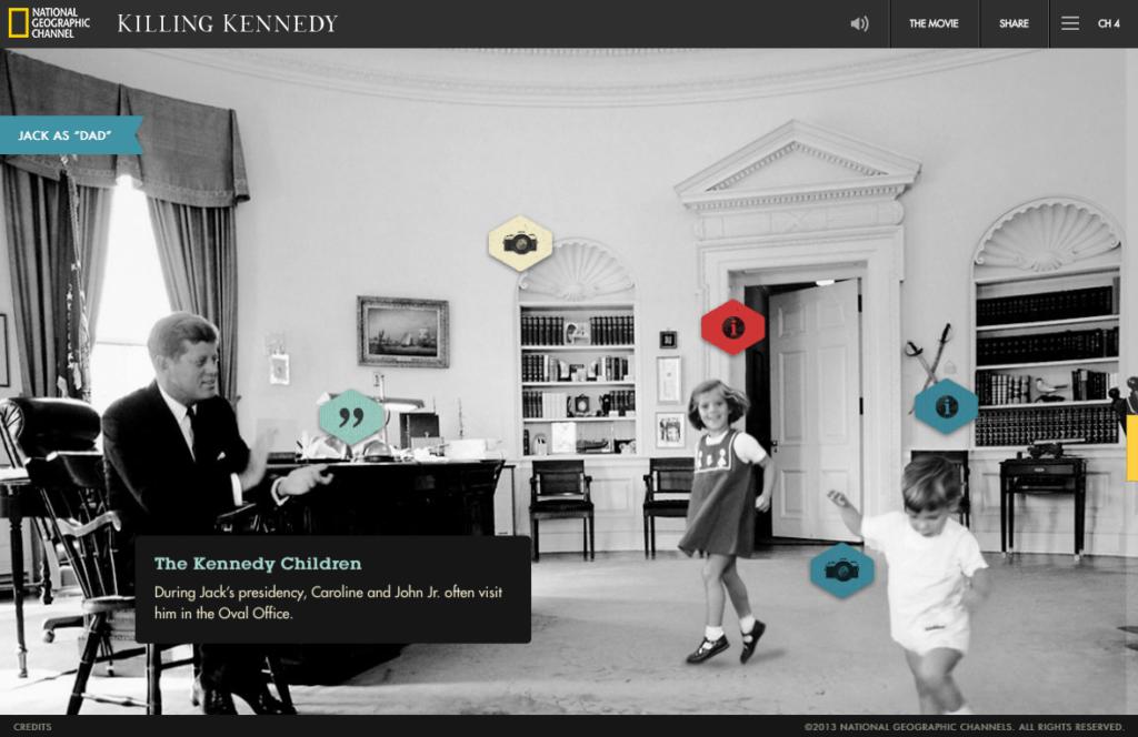 "Screenshot aus ""Killing Kennedy"""