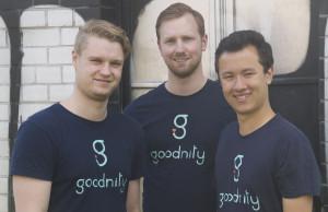 Die Gründer von goodnity