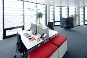 Vodafone Schreibtisch