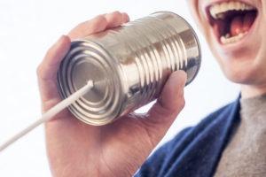Die richtige Kommunikation ist entscheidend.