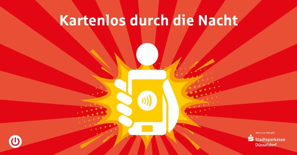 """Postkartenmotiv """"Kartenlos durch die Nacht"""""""