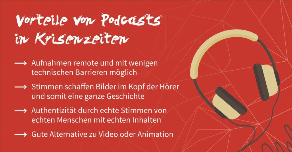 Vorteile von Podcasts